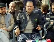 مظفر آباد: مسلم کانفرنس کے صدر سابق وزیراعظم آزاد کشمیر سردار عتیق ..