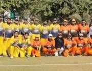 لاہور: کارپوریٹ سیکٹر کی ٹیموں کے درمیان جاری پریمئر سپر لیگ کے راؤنڈ ..