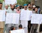 حیدر آباد: قاسم آباد کے مختلف علاقوں کے رہائشی واسا حکام کے خلاف احتجاجی ..