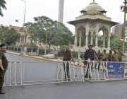 لاہور: تحریک لبیک کی جانب سے انتخابات میں مبینہ دھاندلی کیخلاف نکالی ..