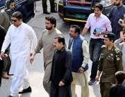 راولپنڈی: وفاقی وزیر شہریار آفریدی کے مرکزی جلوس کے راستوں کا معائنہ ..
