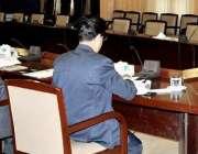 پشاور: صوبائی وزیر قانون سلطان خان پشاور یونیورسٹی کے لیے بنائی گئی ..