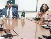 لاہور: سیکرٹری پرائمری اینڈ سیکنڈری ہیلتھ پنجاب علی بہادر قاضی کو چارج ..