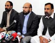 اسلام آباد: امیر جماعت اسلامی نصر اللہ رندھاوا پریس کانفرنس سے خطاب ..