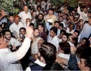 راولپنڈی: آریا محلہ یو سی45میں مسلم لیگ ن کے امیدوار برائے قومی اسمبلی ..