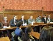 لندن: قانون ساز اسمبلی آزاد کشمیر کے اپوزینش لیڈر چوہدری یاسین برطانوی ..