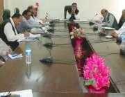 مظفر آباد: وزیر جنگلات سردار میر اکبر خان محکمہ جنگلات کے افسران کے ..