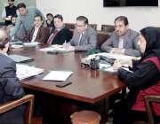 لاہور: وزیر صحت پنجاب ڈاکٹر یاسمین راشد محکمہ صحت میں اصلاحات سے متعلق ..