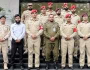 لاہور: ملٹری پولیس سکول ڈی آئی خان کے وفد کا پنجاب سیف اتھارٹی کے دورہ ..
