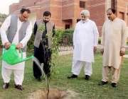 "لاہور: ڈائریکٹر جنرل سپورٹس پنجاب ندیم سرور""سرسبز اور صاف پاکستان .."