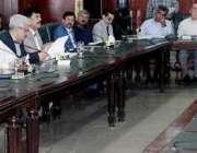 لاہور: کیبنٹ کمٹی برائے فلڈ کے دوسرے اجلاس کی صدارت چیئرمین ملک ندیم ..