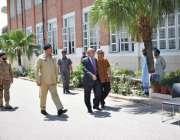 حسن ابدال: گورنر پنجاب محمد رفیق رجوانہ کیڈٹ کالج کا دورہ کر رہے ہیں، ..