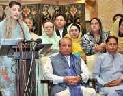 اسلام آباد: پاکستان مسلم لیگ (ن) کی رہنما مریم نواز پریس کانفرنس سے خطاب ..