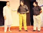 راولپنڈی: صاف ستھری تفریح کے فروغ کے لیے آرٹس کونسل کے زیر اہتمام سٹیج ..
