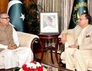 اسلام آباد: صدر مملکت ڈاکٹر عارف علوی سے وفاقی وزیر برائے سائنس و ٹیکنالوجی ..