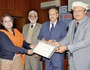 راولپنڈی: پیر مہر علی شاہ بارانی زرعی یونیورسٹی کے وائس چانسلر پروفیسر ..