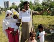 اسلام آباد: بھکر کا رہائشی معذور ہونے کے باعث حکومتی اداروں سے امداد ..