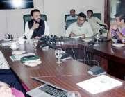 لاہور: صوبائی وزیر خوراک سمیع اللہ چوہدری وزارت خوراک کے لیے مستقبل ..