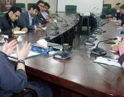 لاہور: صوبائی وزیر سکولز ایجوکیشن مراد راس سے عوامی جمہوریہ چین کا ..