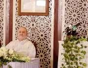 اسلام آباد: صدر آزاد کشمیر سردار مسعود خان وارت خارجہ میں جمشید مارکر ..