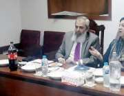 لاہور: وزیر صحت پنجاب ڈاکٹر یاسمین راشد فاطمہ جناح میڈیکل یونیورسٹی ..