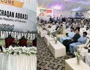 حویلیاں: وزیراعظم شاہد خاقان عباسی حویلیاں کے دورہ کے موقع پر خطاب ..