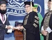 کراچی: صدر مملکت ڈاکٹر عارف علوی پاکستان نیوی انجینئرنگ کالج کے30ویں ..