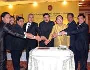 اسلام آباد: وفاقی وزیر ریلوے شیخ رشید احمد تھائی لینڈ کی یوم آزادی کی ..