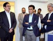 اسلام آباد: وفاقی وزیر برائے انفارمیشن ٹیکنالوجی اینڈ ٹیلی کام این ..
