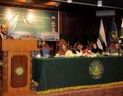 اسلام آباد: صدر جامعہ ڈاکٹر احمد یوسف الدریویش اسلامی یونیورسٹی کے ..