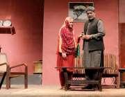 """کراچی: آرٹس کونسل آف پاکستان کراچی میں """"سندھ تھیٹر فیسٹیول"""" کا ڈرامہ .."""