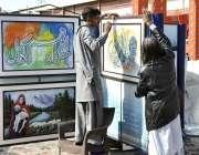 اسلام آباد: لوک میلہ 2018میں ایک شہر سٹال لگارہا ہے۔