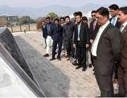 اسلام آباد: سندھ مدرسةاسلام یونیورسٹی کے طلباء قومی قیادت پروگرام ..
