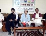 کوئٹہ: آل بلوچستان بکرا منڈی ایسوسی ایشن کے صدر حبیب اللہ عرف سفری و ..