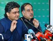 اسلام آباد: چیئرمین سٹینڈنگ کمیٹی برائے اطلاعات و نشریات سینیٹر فیصل ..