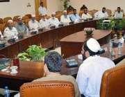 پشاور: گورنر خیبر پختونخوا شاہ فرمان سے یونین کونسل پی کے71 ادیزئی کا ..