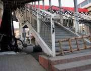 راولپنڈی: لیاقت باغ میٹرو بس سٹیشن بند کیا گیا ہے۔