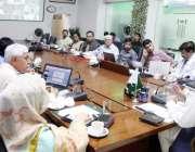 لاہور: سیکرٹری پرائمری اینڈ سیکنڈری ہیلتھ علی بہادر علی قاضی تمام ڈسٹرکٹس ..