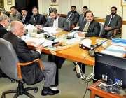 اسلام آباد: چیئرمین نیب جسٹس (ر) جاوید اقبال نیب ہیڈکوارٹر میں اعلیٰ ..