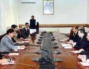 اسلام آباد: سیکیورٹی ایڈوائزر جنرل (ر) ناصر خان جنجوعہ تاجکستان کے وفد ..