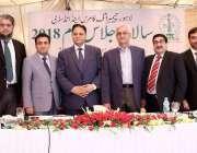 لاہور: لاہور چیمبر کے سالانہ اجلاس عام کے موقع پر نو منتخب صدر الماس ..