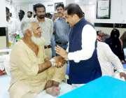 لاہور: وزیر اعلیٰ پنجاب کے مشیر برائے صحت حنیف خان پتافی منڈی بہاؤالدین ..