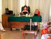 مظفر آباد: ڈائریکٹر ڈویلپمنٹ ڈاکٹر قدیسہ بتول شہید بینظیر بھٹو سینٹر ..