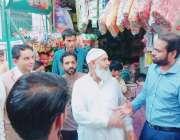 لاہور:مسلم لیگ (ن)کی جانب سے صوبائی حلقہ 154کی انتخابی مہم کے کوآرڈینیٹر ..
