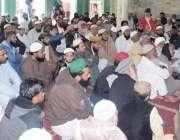 """قصور: پاکستان علماء کونسل کے مرکزی چیئرمین حافظ طاہر محمد اشرفی """"یوم .."""