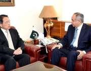 اسلام آباد: وزیر اعظم کے مشیر برائے کامرس اینڈ ٹیکسٹائل اینڈ انڈسٹری ..