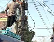 حیدر آباد: محرم الحرام میں سیکیورٹی کے پیش نظر سی سی ٹی وی کیمرے نصب ..