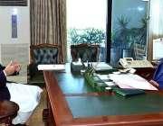 اسلام آباد: صدر مملکت ڈاکٹر عارف علوی سے وزیر برائے زکوٰة اینڈ عشر پنجاب ..