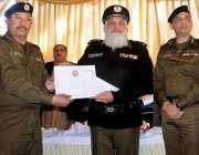 راولپنڈی: آرپی او، فیاض احمد ، سی پی او کے ہمراہ تھانہ سٹی کے ایس ایش ..