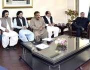 اسلام آباد: چیئرمین سینیٹ محمد صادق سنجرانی سے بلوچستان پارلیمنٹ کا ..